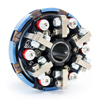 098-164r - Restricted Clone, 1 Disc 6 Spring Complete Clutch