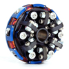 2 Disc 6 Spring, 2800 RPM, 098-261r, WKA Rookie