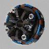 3 Disc 4 Spring, 4000 RPM, 098-344a, Stock Animal