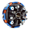 098-242g - 2 Disc 4 Spring, 3600 RPM, Complete Clutch