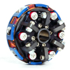 098-263 - 2 Disc 6 Spring, 4000 RPM, Complete Clutch
